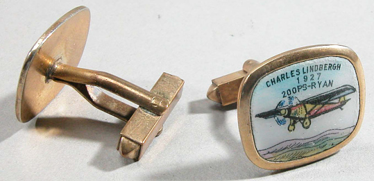 Cufflinks, Lindbergh, King Collection