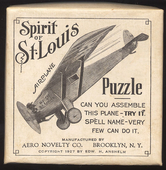 Puzzle Game, Lindbergh, King Collection