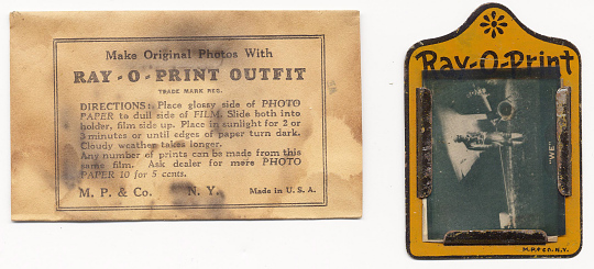 Photographic Kit, Lindbergh, King Collection