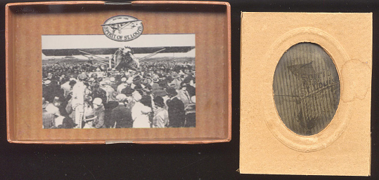 Slide Image and Box, Lindbergh, King Collection