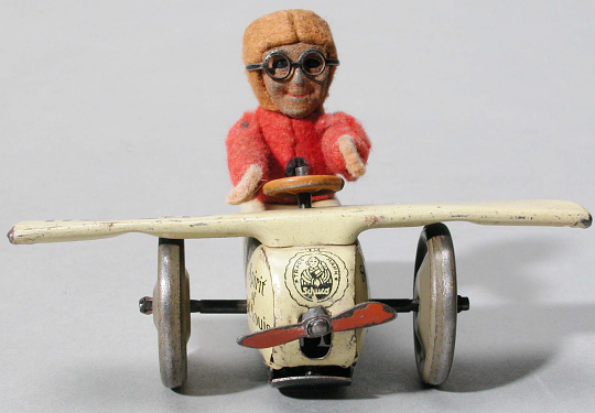 Toy, Airplane, Wind-Up, Lindbergh, King Collection