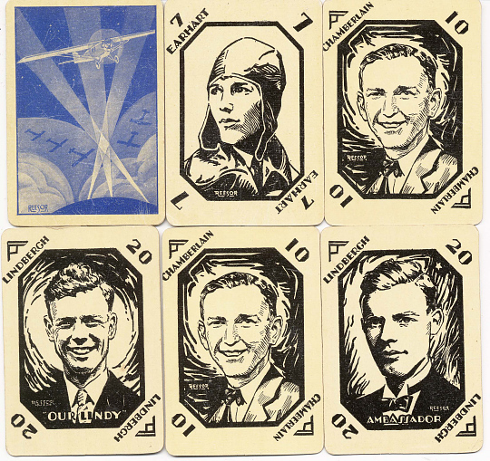 Card Game, Lindbergh, King Collection