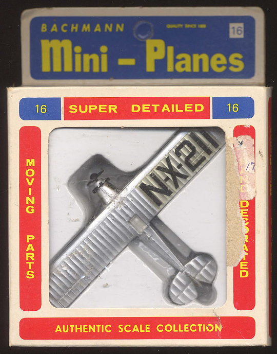 Model, Airplane, Lindbergh, King Collection
