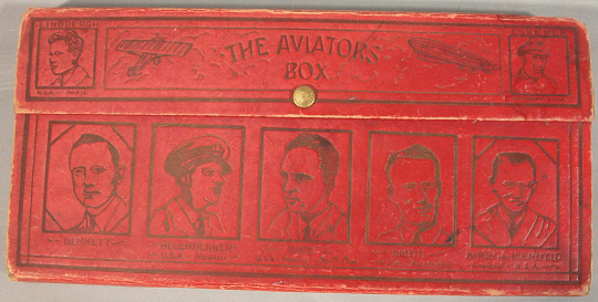Pencil Box, Lindbergh, King Collection
