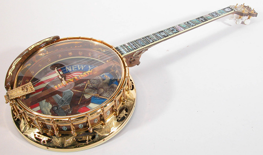 Banjo, Lindbergh, King Collection