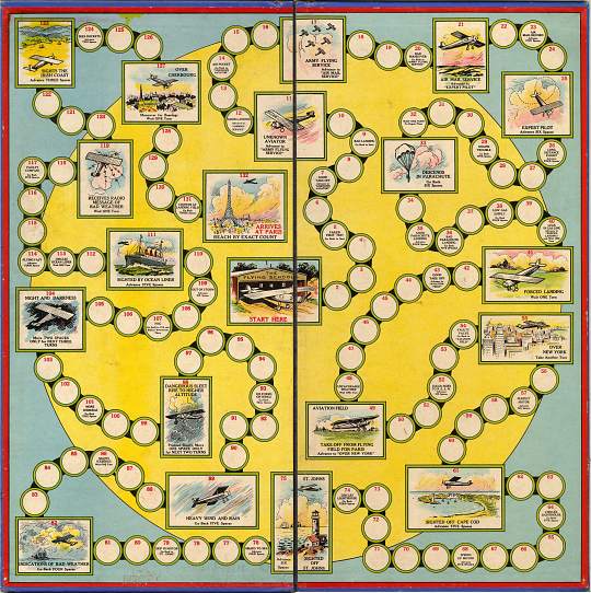 Board Game, Lindbergh, King Collection