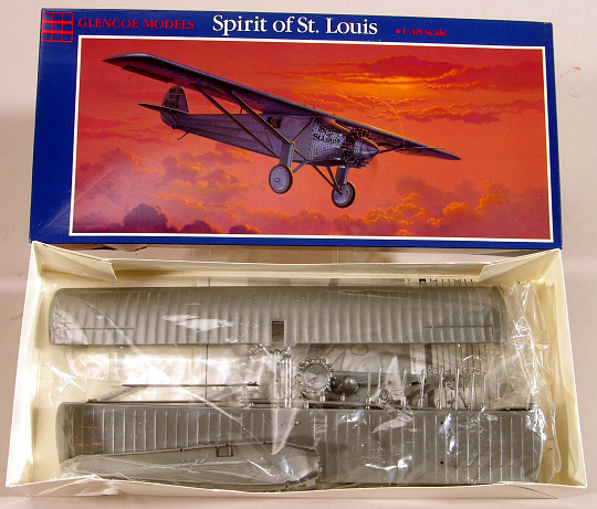 Model, Airplane, Kit, Lindbergh, King Collection