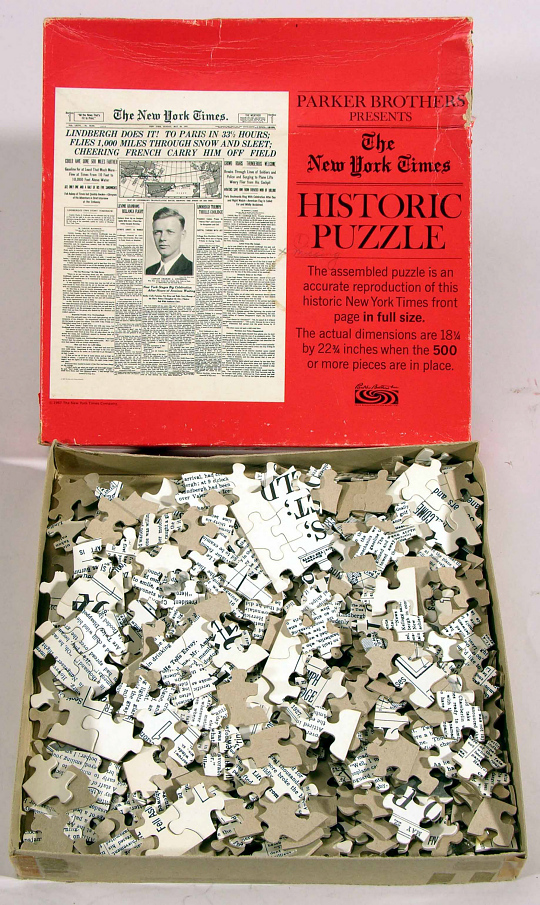 Game, Puzzle, Jigsaw, Lindbergh, King Collection
