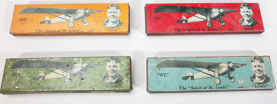 Pencil Boxes, Lindbergh, King Collection