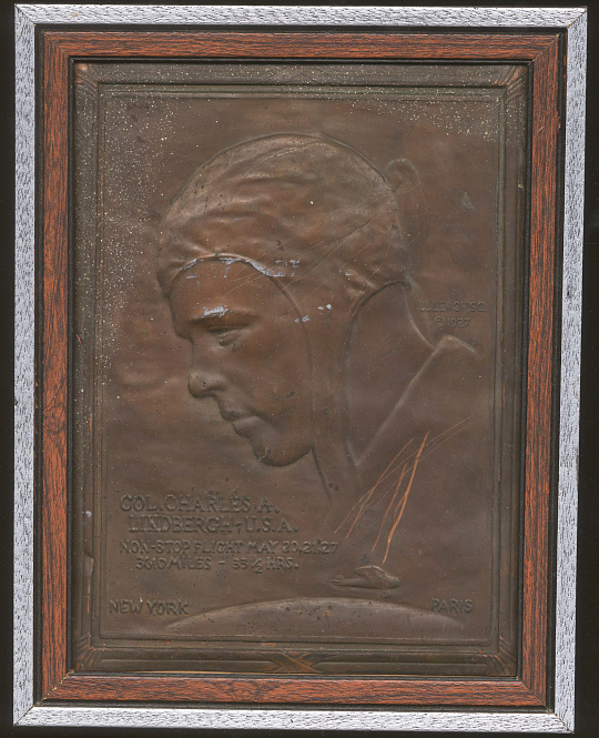 Plaque, Wall Hanging, Lindbergh, King Collection