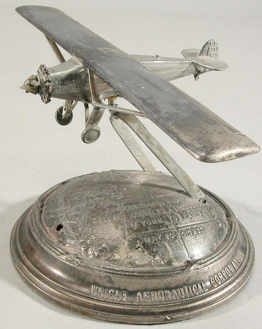 Award, Airplane Model, Lindbergh, King Collection
