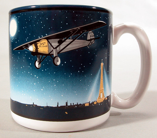 Coffee Mug, Lindbergh, King Collection