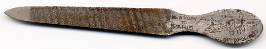 Nail File, Lindbergh, King Collection