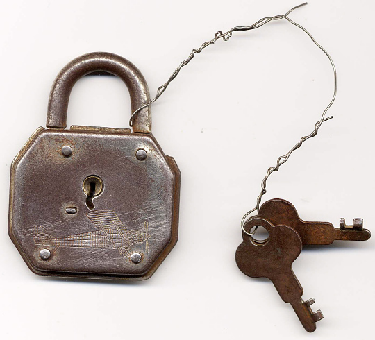 Padlock & Keys, Lindbergh, King Collection
