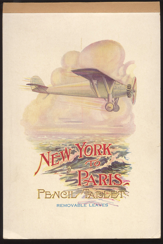 Notepad, Lindbergh, King Collection