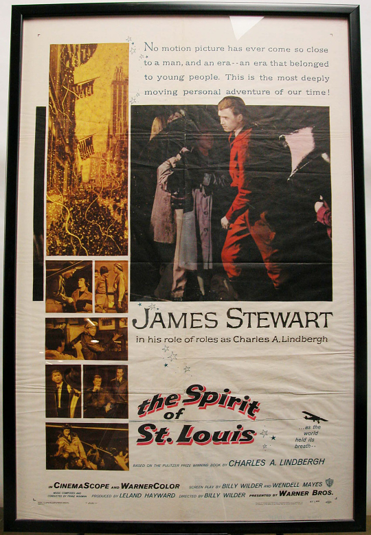 Poster, Lindbergh, King Collection