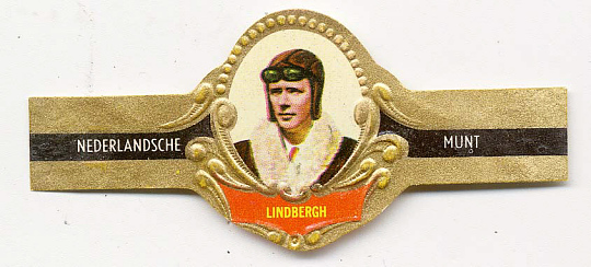 Cigar Band, Lindbergh, King Collection