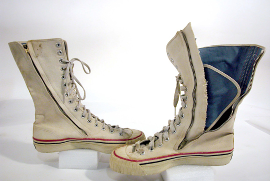 Flight Boot, Left, Rocket Belt