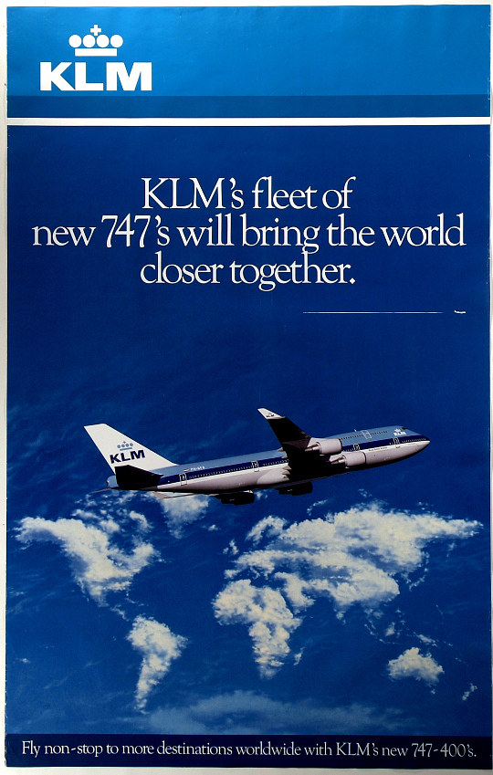 KLM's Fleet of New 747's Will Bring the World Closer Together