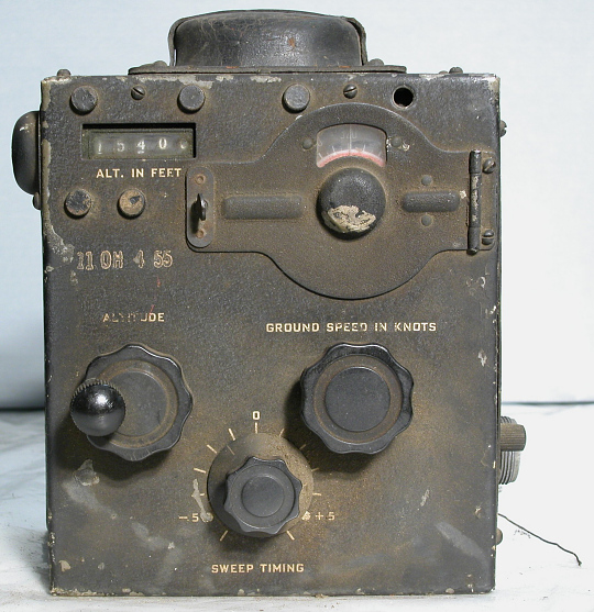 CP-10 Computer, AN/APS-15 Radar Equipment