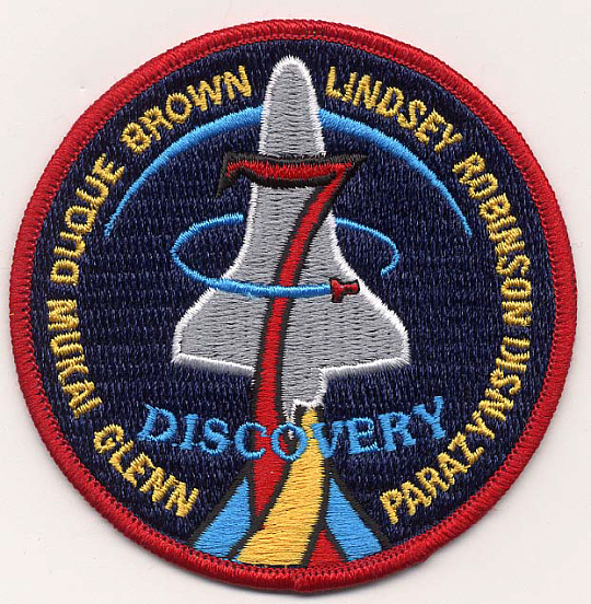 Patch, Mission, STS-95