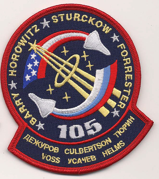 Patch, Mission, STS-105