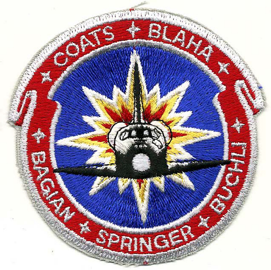 Patch, Mission, STS-29