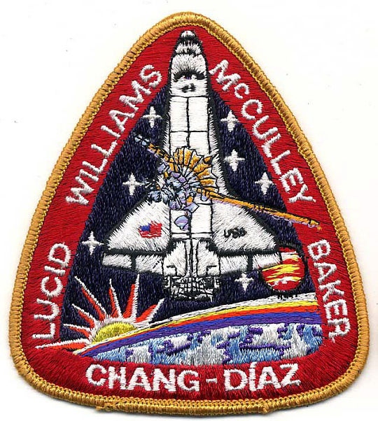 Patch, Mission, STS-34