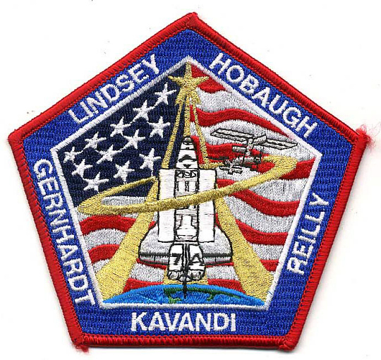 Patch, Mission, STS-104