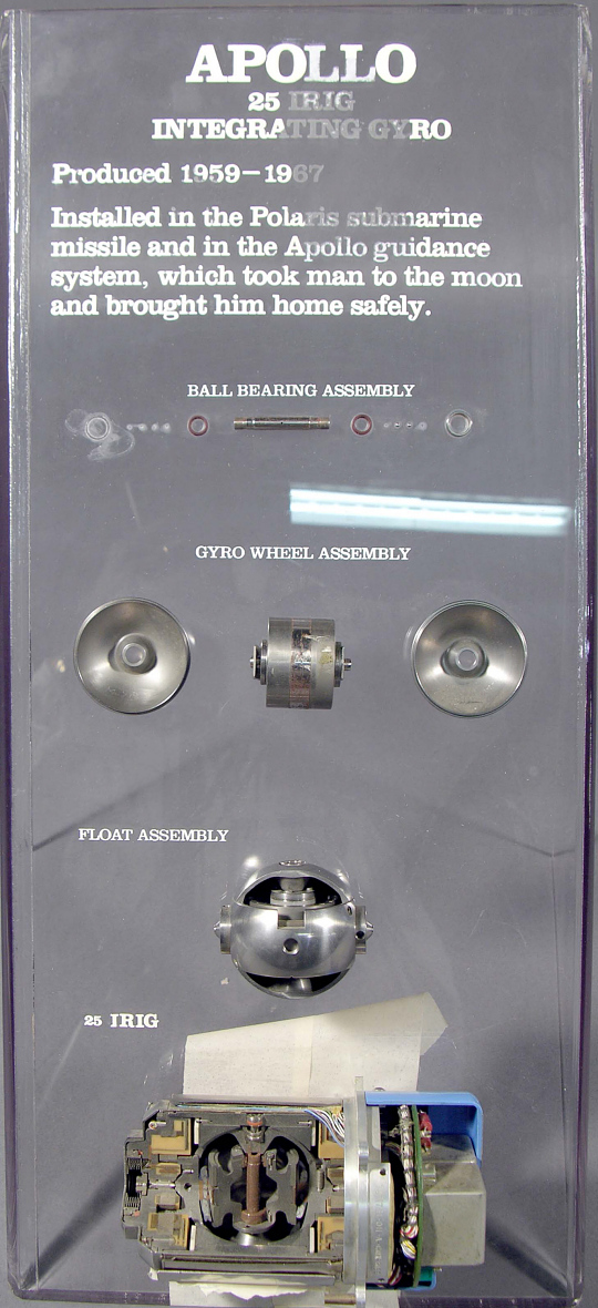 Gyroscope, Apollo 25 Inertial Reference Integrating (IRIG)