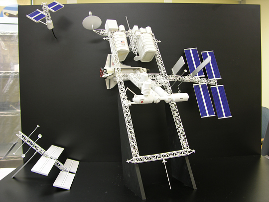 Model, Space Station, Dual Keel