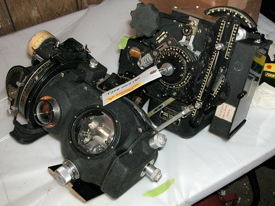 Bombsight, with LAB attachement, Norden Mk XV, M-9