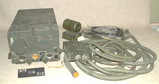 Homing Radio and Miscellaneous Parts, Japanese, Kawanishi N1K1 Kyofu REX