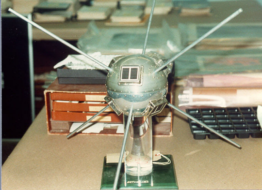 Satellite, Vanguard 1, Replica
