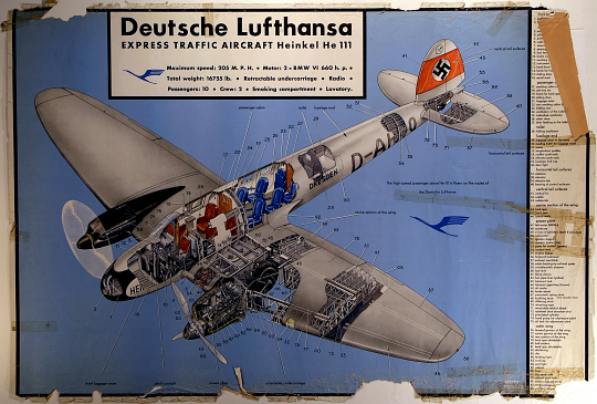 Deutsche Lufthansa: Express Traffic Aircraft Heinkel HE III