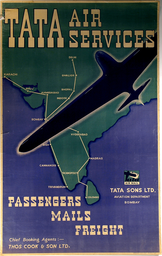 Tata Air Services Passangers Mails Freight