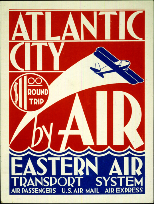 Eastern Air Transport System Atlantic City by Air