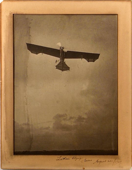 Latham Flying, Reims August 22, 1909