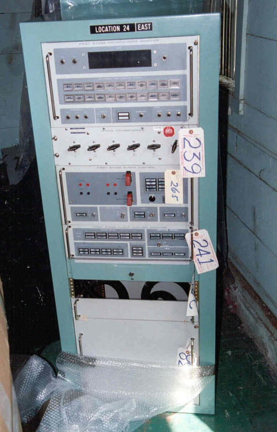 Launch Console, Electronics Rack, Atlas