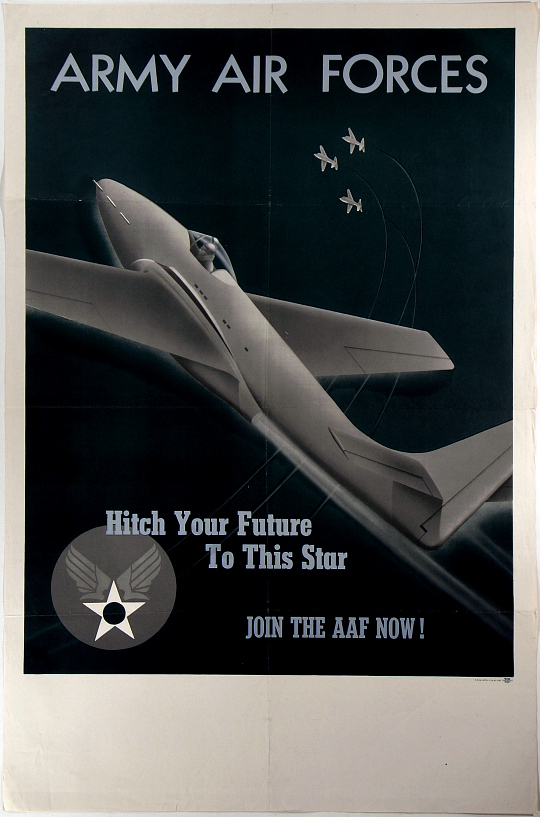 Army Air Forces Hitch Your Future to This Star