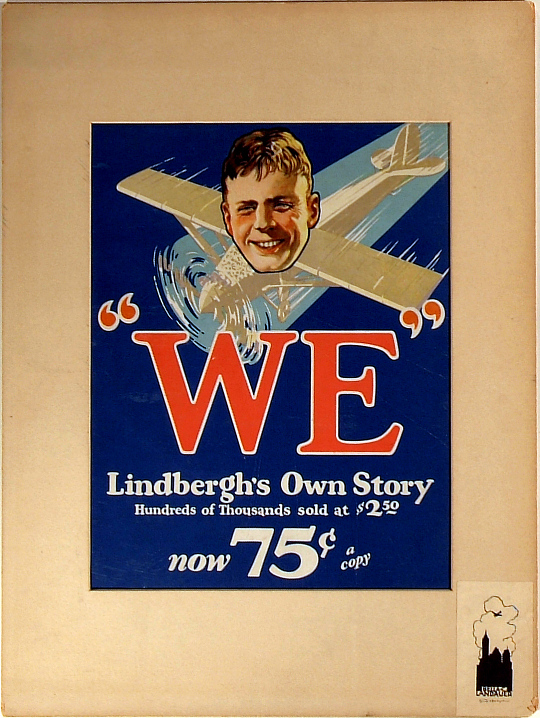 """WE""...Lindbergh's Own Story"