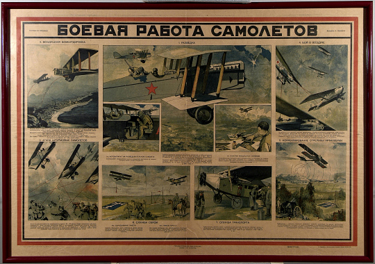 BOEVYA RABOTA SAMOLETOV [Military Aircraft Activities]