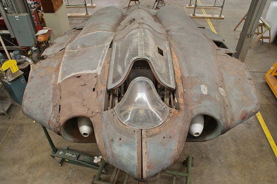 Horten Rusted Left Fairings