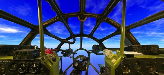 Boeing B-29 Superfortress <em>Enola Gay</em> Panorama