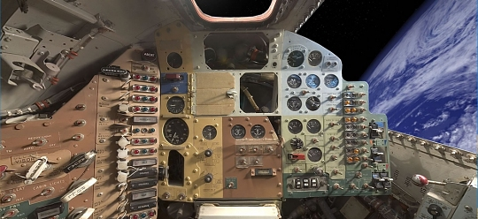 Mercury Capsule <em>Freedom 7</em> Panorama.