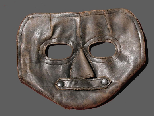 WWI Leather Face Mask