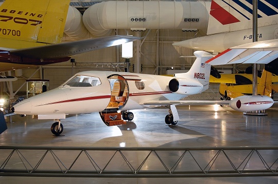 Lear Jet Model 23 at the Udvar-Hazy Center