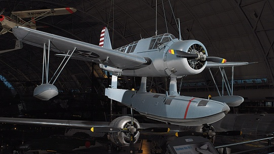 Vought-Sikorsky 0S2U-3 Kingfisher at the Udvar-Hazy Center