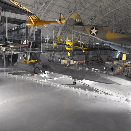 Lockheed SR-71 Blackbird at the Steven F. Udvar-Hazy Center