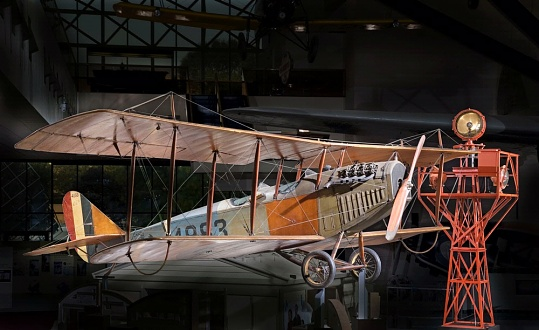 America by Air - Curtiss JN-4D Jenny